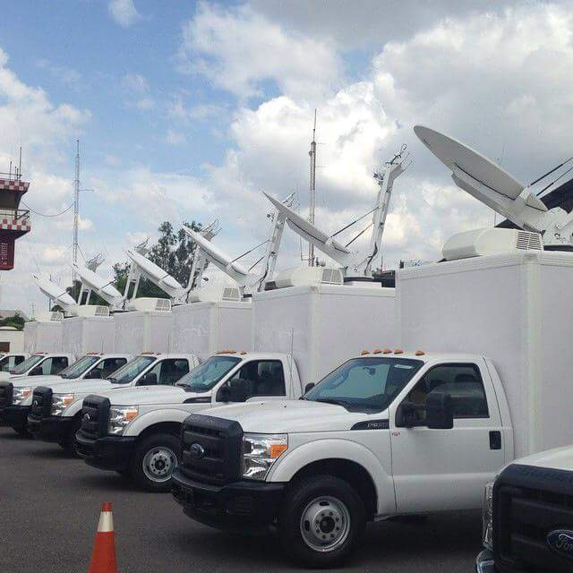 Vehicle Mounted Satellite Antennas